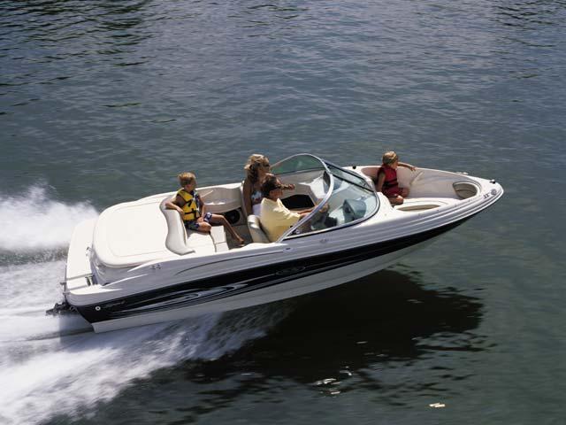 18FT Bow rider searay 2 yolo boat rentals