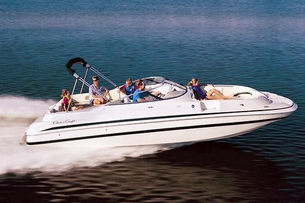 26ft Chris Craft Deck Boat reservations