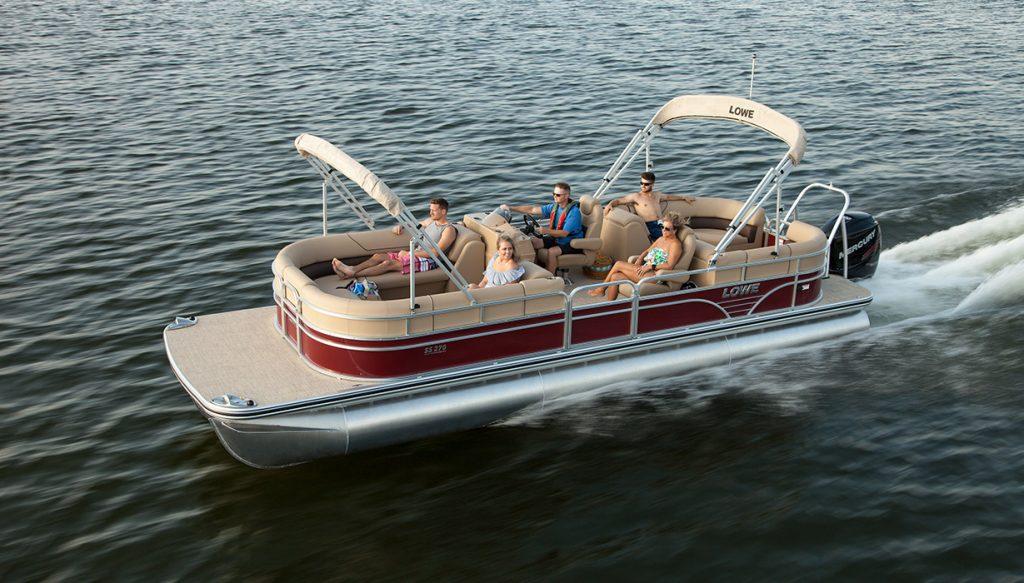 27 Lowe Pantoon Boat tours