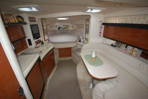 40 ft sea ray sundance yacht interior 2