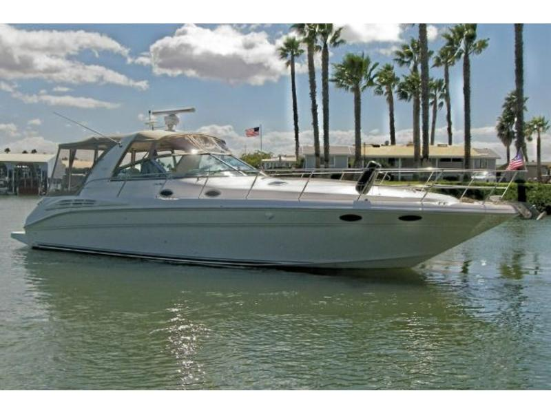 40 ft sea ray sundance yacht