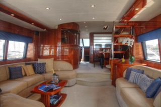 charter a princess yacht in miami