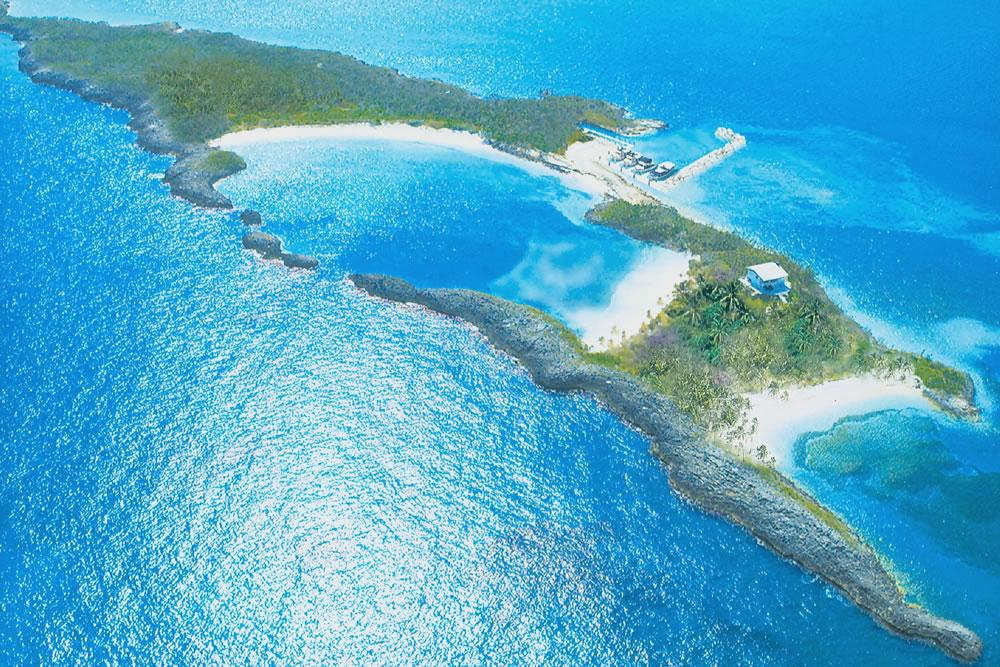 bahamas arial view