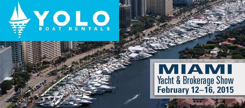 YOLO Miami International Boat Show Opens its Doors on February 12