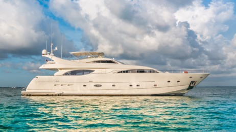 94′ Ferrety Paradise Yacht for Charter