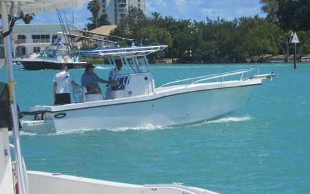 Why choose a small boat for rental in Miami on your vacation?